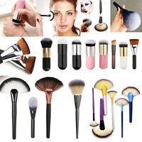 Pro Makeup Cosmetic Kabuki Contour Powder Blusher Blush Foundation Brush Tool hs