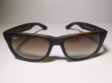 Ray-Ban Justin Rb4165 865/T5 Tortoise -Brown Gradient 54Mm Polarized Sunglass