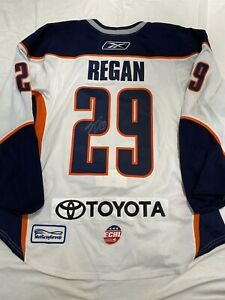 GAME USED GAME WORN ECHL ERIC REGAN 2010 All Star Game BAKERSFIELD CONDORS AUTO