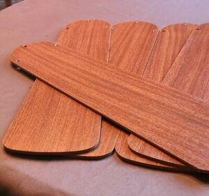 """Hampton Bay Ceiling Fan 5 Blades Dark Oak or Light Pre-owned for 52"""" Fan Reverse"""