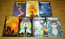 ElfLord #1-7 VF/NM complete series - barry blair - warp graphics 2 3 4 5 6 set