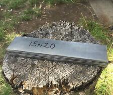 5 x 15n20 / 75ni8 haute acier au carbone nickel bandes, couteau making, motif de soudage
