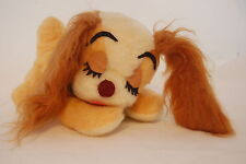 """Lady and the Tramp Puppy Dog Walt Disney Characters Vintage USA Made Plush 9"""""""
