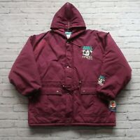 Vintage New Mighty Ducks Parka Jacket by Competitor Size XL Anaheim