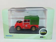 OXFORD COMMERCIALS LAND ROVER - CHRISTMAS 2010 SCALE 1:43 LAN180007