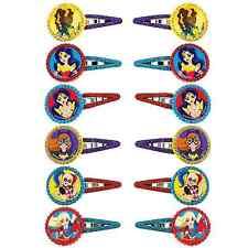 DC Super Hero Girls Hair Clips Birthday Decoration Party Barrette Favor Supplies