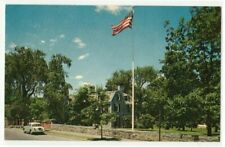 VTG John Adams Mansion Quincy MA Photo Postcard American Bicentennial Historama