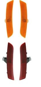CHEVY CHEVROLET CAMARO 2016-2020 FRONT REAR SIDE MARKER LIGHTS LAMPS 4PC SET