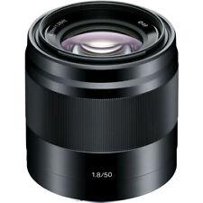 Sony E  50mm f/1.8 Lens for Sony E Mount Nex Cameras (Black)!! BRAND NEW!!