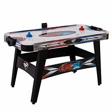 """New listing Triumph Fire 'n Ice LED Light-Up 54"""" Air Hockey Table Includes 2 LED Hockey"""