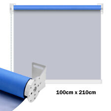 NEW Blue Blackout Blinds Curtain Side Blinds Sun Blinds Window Shade 100*210cm
