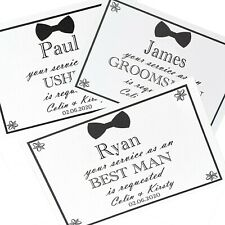 Will you be my Best Man Usher Groomsman Pageboy complete with Kraft Envelope