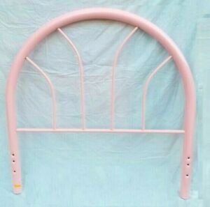 Metal Headboard Pink Vintage for Youth bed (Does NOT include footboard!)