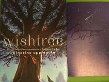 SIGNED WISHTREE by KATHERINE APPLEGATE,Newbery Award-winning author 1ST/1ST HCDJ