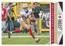 2013 Panini Score Football Trading Card, #187 Michael Crabtree