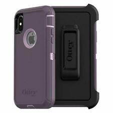 OTTERBOX Defender Series Screenless Edition Case for iPhone X/Xs-Purple