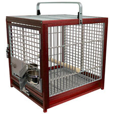KINGS CAGES ATS 1719 ALUMINUM SMALL TRAVEL CARRIERS CAGE parrot bird toy toys