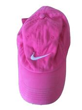 Nike Pink Cotton Cap One Size (C919)
