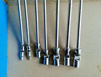 USAG/BETA SET 7 CHIAVI A SNODO: 5 BOCCA ESAGONALE 10<17mm - 2 TORX 273 CE/EXTRA