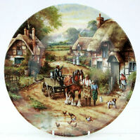 Royal Doulton Bone China Collector Plate Early Morning Milk Country Days
