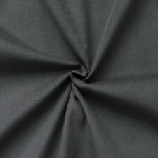 Feincord Baumwollstoff Babycord Cordstoff Grau 140cm breit Meterware Modestoff