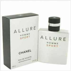 Chanel Allure Homme Sport 3.4 Oz Eau De Toilette Cologne Spray SUMMER OFFER
