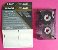 MC Musicassetta BASF Ferro Maxima I 60 Vintage Compact Audio Cassette USATA