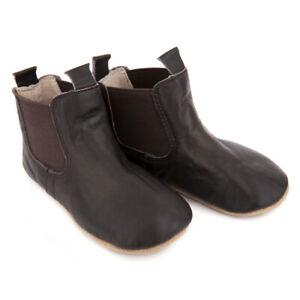 NEW SKEANIE Baby & Toddler Leather Riding Boots Chocolate. RRP $59.95