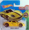 Hot Wheels Porsche Carrera GT - yellow