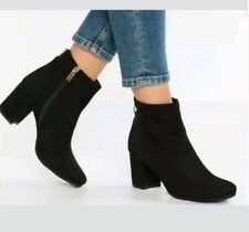 8b1f0cebbd1 Xti Womens EU Size 37 Black Ankle BOOTS