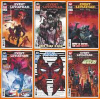 EVENT LEVIATHAN #1 2 3 4 5 & 6 SET Batman Superman Justice Bendis DC 2019 NM- NM