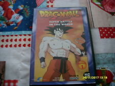 dvd manga film DRAGON BALL Z super battle in the world dessin animé neerlandais