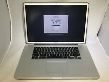 MacBook Pro 17 Early 2011 2.3GHz i7 16GB 750GB HDD - Good Condition