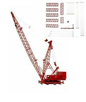 TWH #049A-01117 1//50 Manitowoc 4100W Crawler Crane Boom Extension Kit