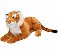 "~❤️~WILD REPUBLIC TIGER Large soft toy Giant 40"" 90cm BNWT Richmond Fan~❤️~"