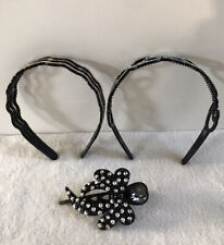 Fashion Women's Crystal Headband Plastic Hairband Hair Hoop Accessories