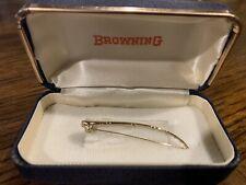 Vintage Browing fishing rod tie clip