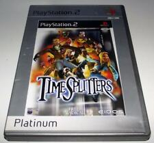 Time Splitters PS2 (Platinum) PAL *Complete*
