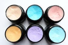 4D Paste UV/LED Gel SET 6 Farben Nailart Paste für Blumen und Volumen Designe