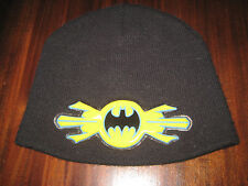 BATMAN Warner Bros. Beanie Skull Cap in Black Boys OSFA Gently Worn