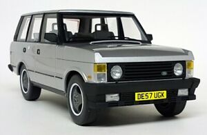 LS Collectibles 1/18 Scale Classic Range Rover S1 1986 Silver Resin Model Car
