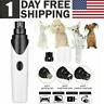 Electric Pet Nail Grinder ToeNail Trimmer Dog Cat Pet Claw Grooming Clipper Tool