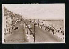 Sussex HASTINGS Caroline Parade 1957 RP PPC