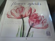 2019 Flower Spirits -- Radiographs of Nature by Steven N. Meyers 16-Month Wall C