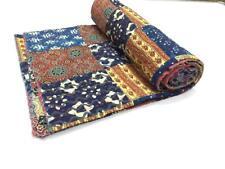 Wholesale Patchwork Kantha Quilt Bedspread Throw Cotton Blanket Gudari Twin58