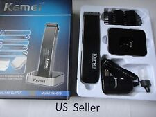 Rechargeable Electric Shaving Machine Razor Beard Hair Clipper Trimmer Black