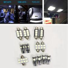 13x White Car Dome Canbus Bulb Light Interior Lamp Kit For 2005-2010 VW Touareg