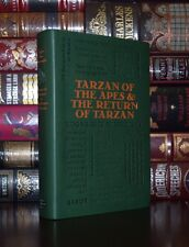 Tarzan of the Apes & The Return Burroughs Unabridged Deluxe Soft Leather Feel Ed