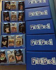Lot Of 5 Disney park packs Limited Edition Pin Sets All NIB!