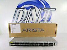 Arista DCS-7050QX-32S-F 32-Port QSFP+ 4x SFP+ Switch F-R Airflow Dual AC PSU HSS